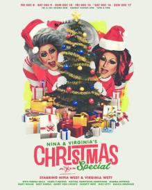 Show Ad   Nina & Virginia's Christmas Special   Axis Night Club (Columbus, Ohio)   12/8-12/17/2017