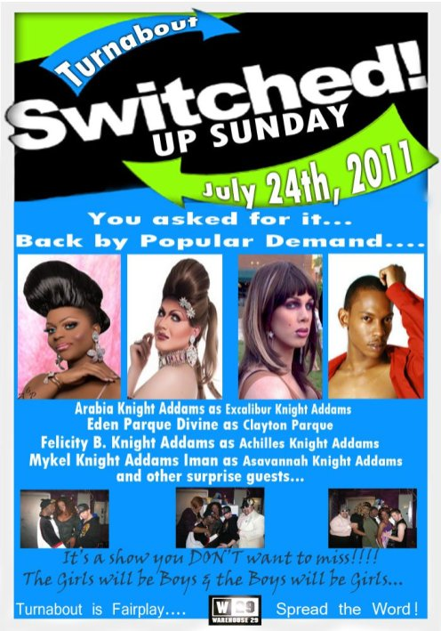 Show Ad | Warehouse 29 (Greensboro, North Carolina) | 7/24/2011