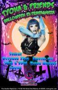 Show Ad | Tyona & Friends Halloween Extravaganza | Garden Nightclub (Des Moines, Iowa) | 10/22/2017
