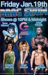 Show Ad | Garden Nightclub (Des Moines, Iowa) | 1/19/2018