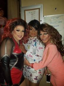 Virginia West, Anisa Love and Maria Garrison