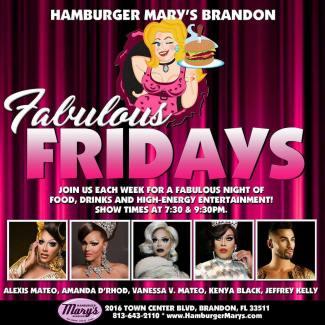 Show Ad   Hamburger Mary's (Brandon, Florida)   1/19/2018