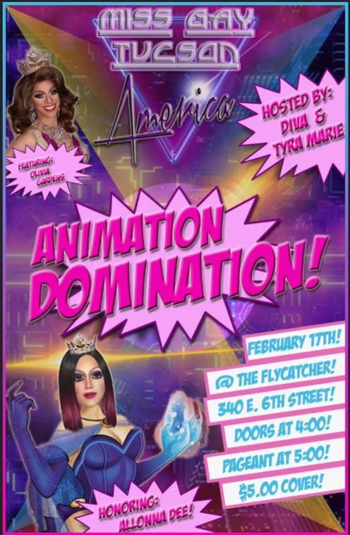 Show Ad   Miss Gay Tucson America   The Flycatcher (Tucson, Arizona)   2/17/2018