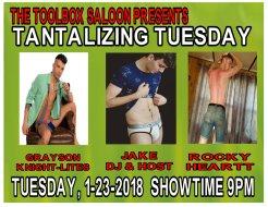 Show Ad | Toolbox Saloon (Columbus, Ohio) | 1/23/2018