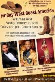 Show Ad | Mr. Gay West Coast America | The Rock (Phoenix, Arizona) | 2/10/2018