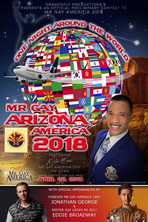 Show Ad   Mr. Gay Arizona America   The Studio at Tempe Center for the Arts (Tempe, Arizona)   4/22/2018