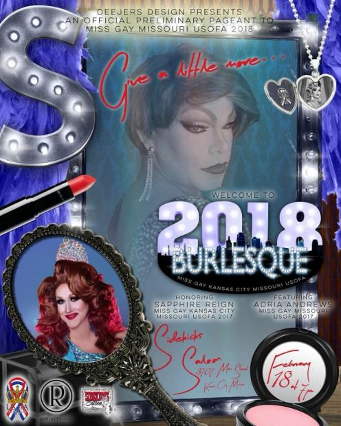 Show Ad | Miss Gay Kansas City USofA | Sidekicks Saloon (Kansas City, Missouri) | 2/18/2018
