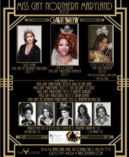 Show Ad | Miss Gay Northern Maryland America | The Lodge (Boonsboro, Maryland) | 3/9/2018
