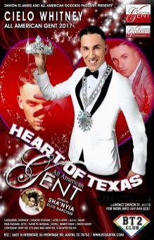Show Ad | Heart of Texas All American Gent | BT2 Club (Austin, Texas) | 2/18/2018
