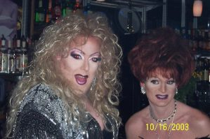 Sable Coate and Maxine Fisher | Blondie's Bar & Patio | 10/16/2003