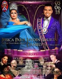 Show Ad   Miss Gay Inergy USofA at Large and Mr. Gay Inergy USofA   Crysta (Houston, Texas)   5/6/2018