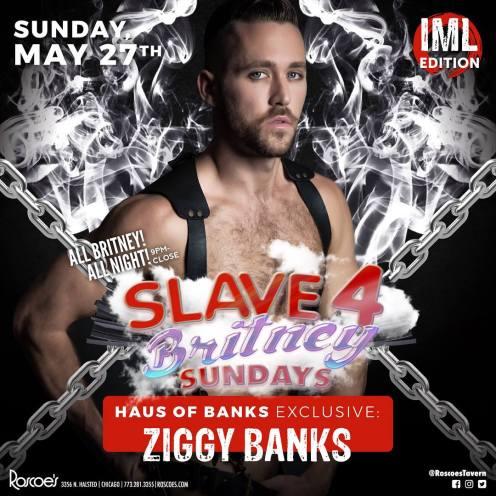 Show Ad   Ziggy Banks   Roscoe's Tavern (Chicago, Illinois)   5/27/2018