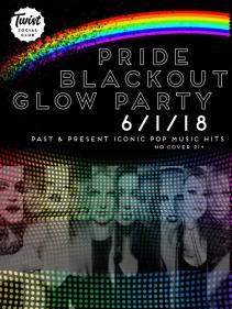 Show Ad   Pride Blackout Glow Party   Twist Social Club (Cleveland, Ohio)   6/1/2018