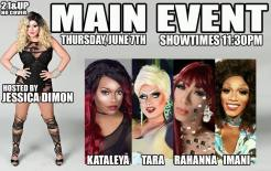 Show Ad | Main Event (Cincinnati, Ohio) | 6/7/2018