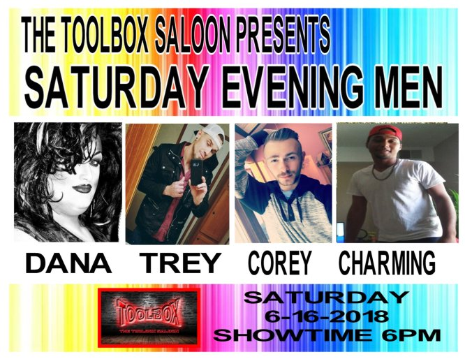 Show Ad   Toolbox Saloon (Columbus, Ohio)   6/16/2018