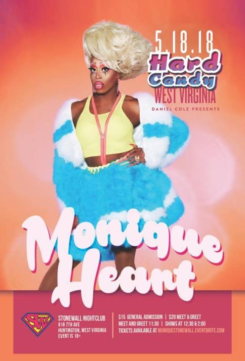 Show Ad | Stonewall Nightclub (Huntington, West Virginia) | 5/18/2018