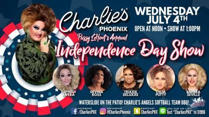 Show Ad   Charlie's (Phoenix, Arizona)   7/4/2018