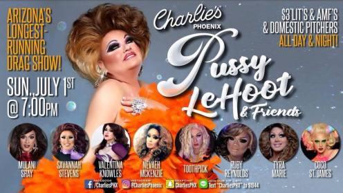 Show Ad | Charlie's (Phoenix, Arizona) | 7/1/2018