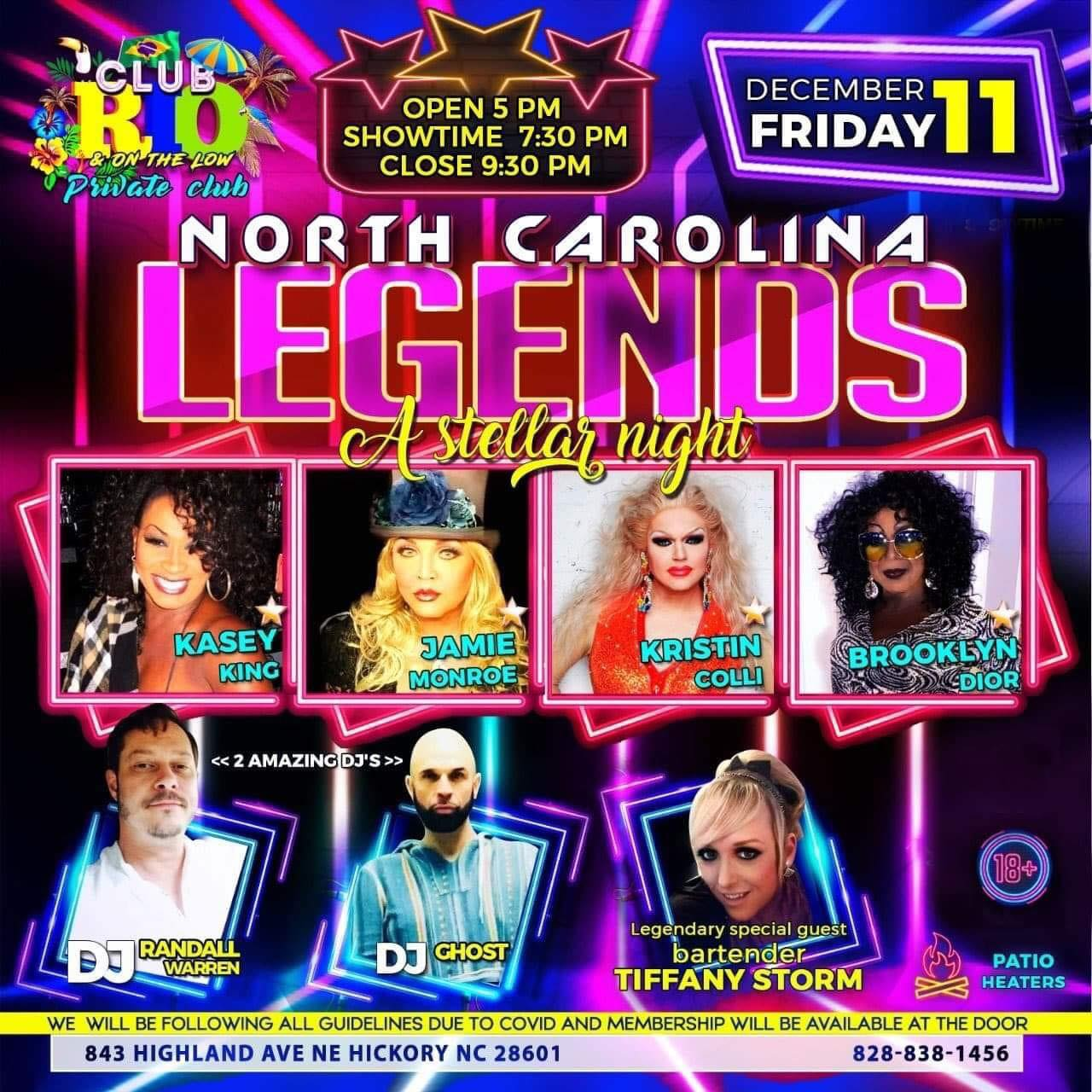 Ad | Club Rio & On the Low (Hickory, North Carolina) | 12/11/2020