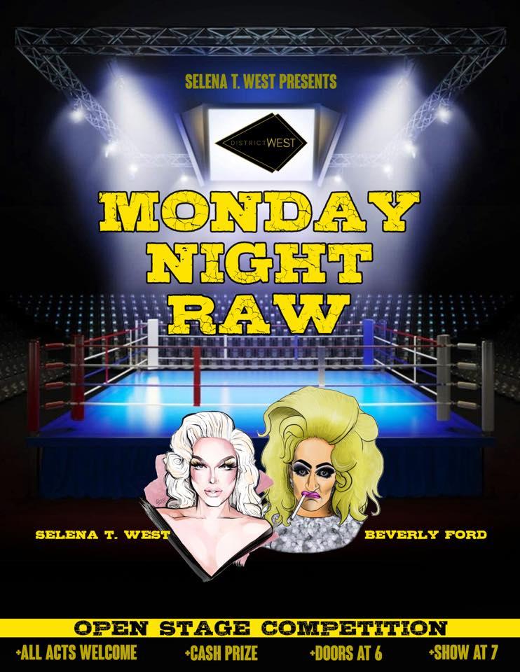 Ad | Monday Night Raw | District West (Columbus, Ohio) | 1/11/2021