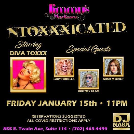Ad | JImmy's @ Madison's (Las Vegas, Nevada) | 1/15/2021