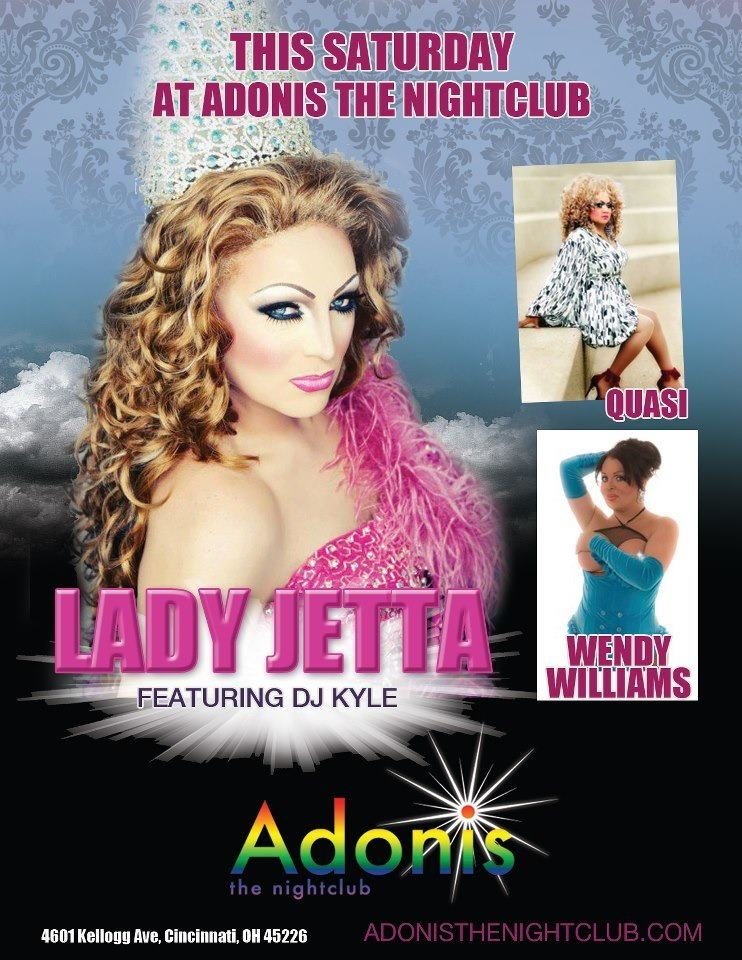 Ad | Adonis the Nightclub (Cincinnati, Ohio) | 10/20/2012