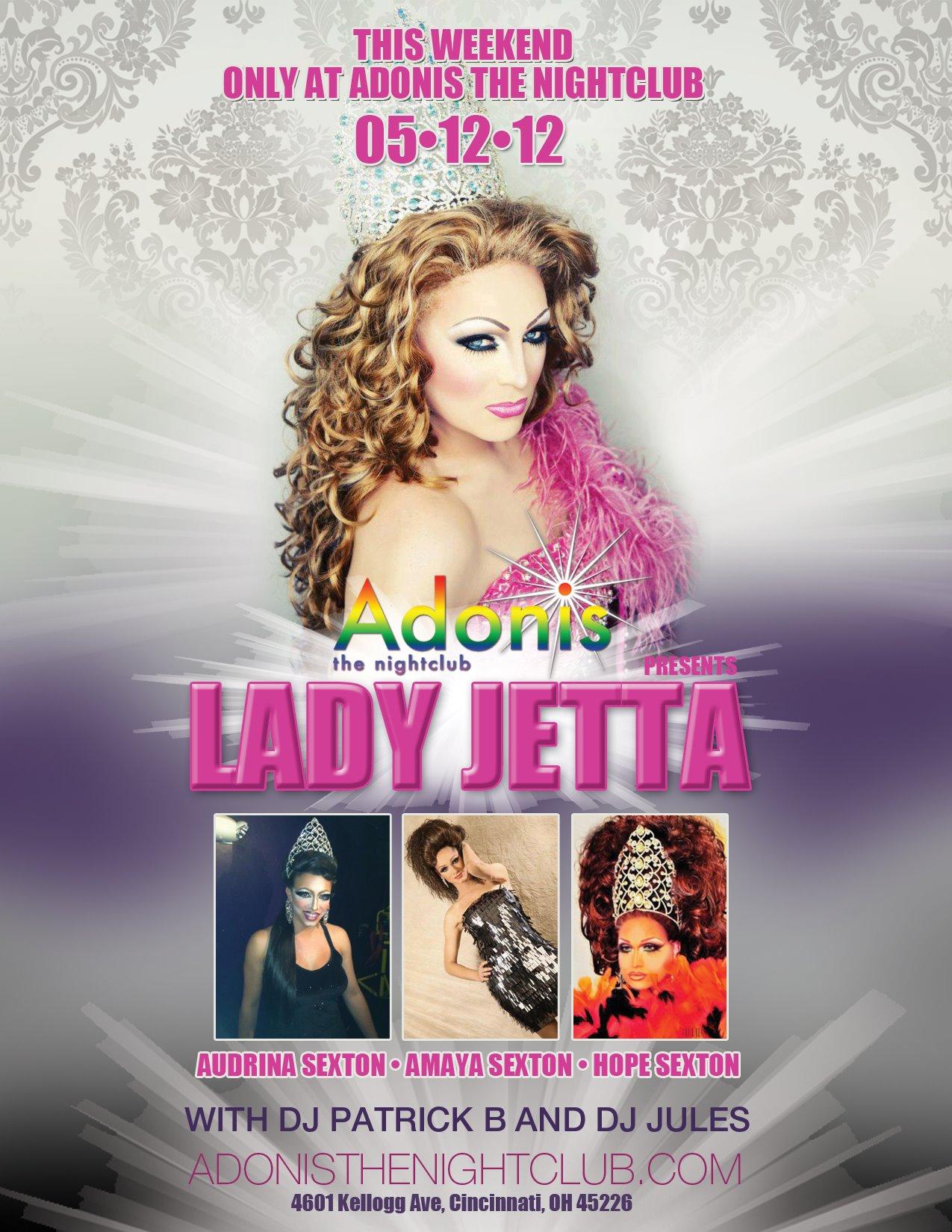 Ad   Adonis the Nightclub (Cincinnati, Ohio)   5/12/2012