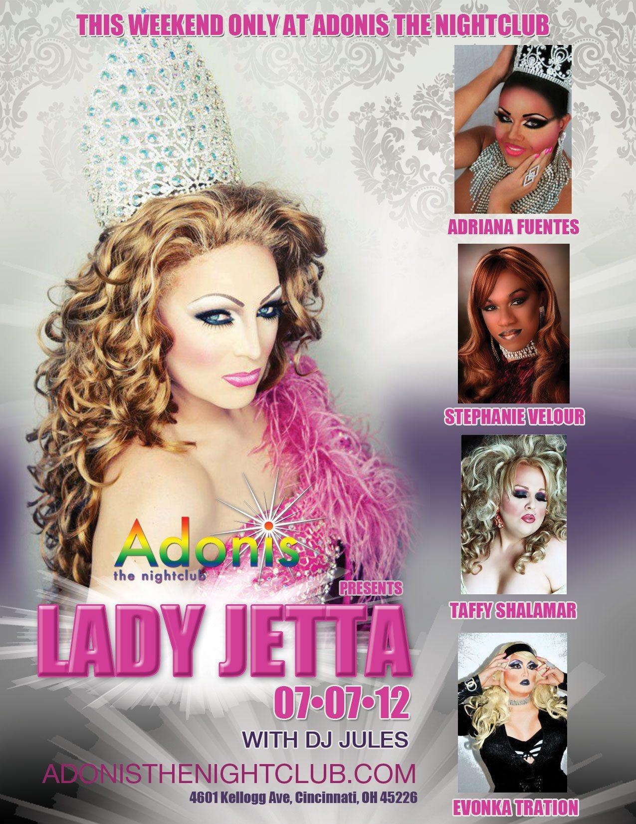 Ad   Adonis the Nightclub (Cincinnati, Ohio)   7/7/2012