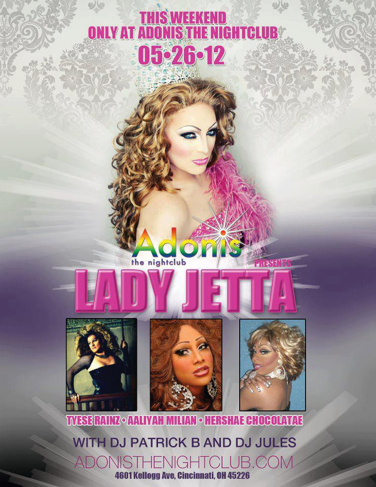Ad | Adonis the Nightclub (Cincinnati, Ohio) | 5/26/2012