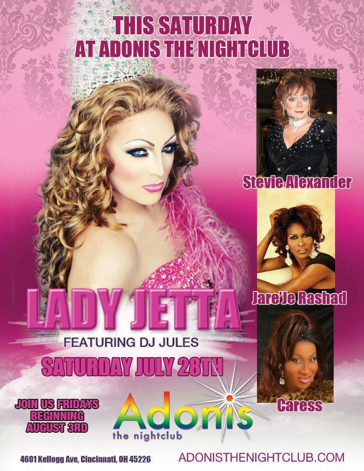 Ad   Adonis the Nightclub (Cincinnati, Ohio)   7/28/2012