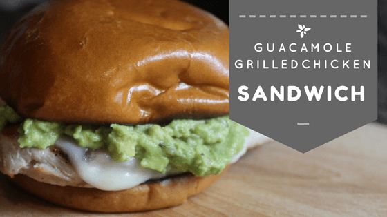 Guacamole Grilled Chicken Sandwich