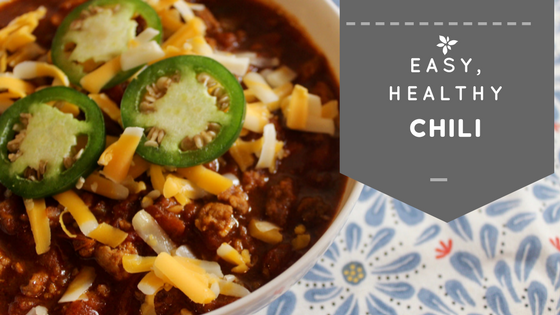 Easy, Healthy Chili