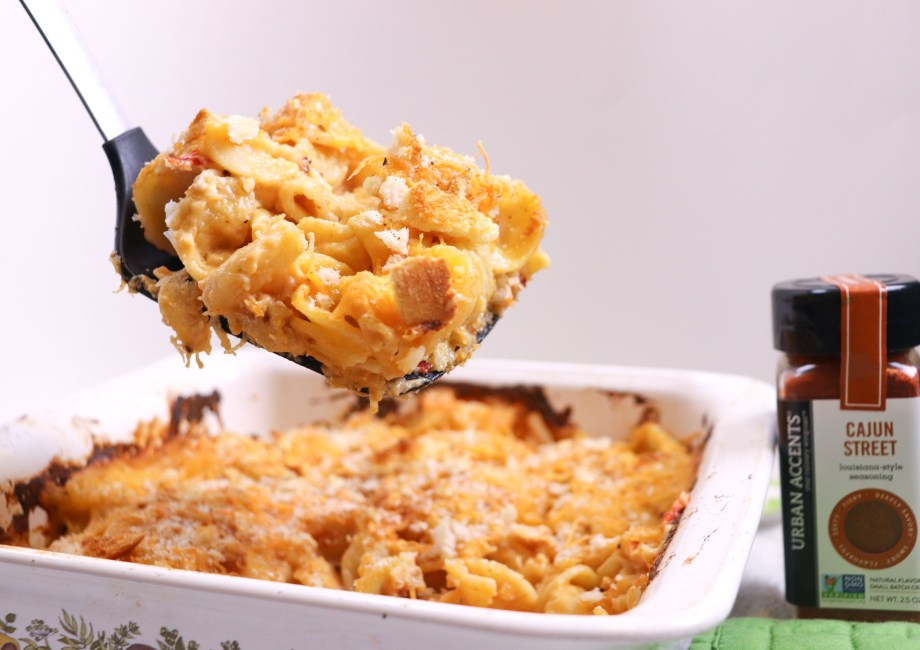 cajun crab mac and cheese