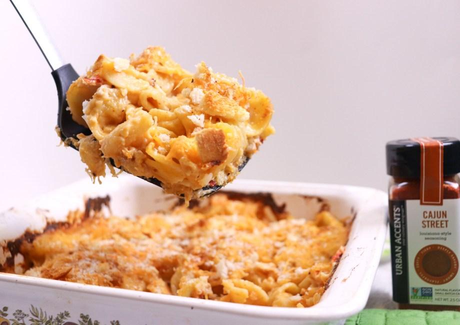 cajun crab mac and cheese