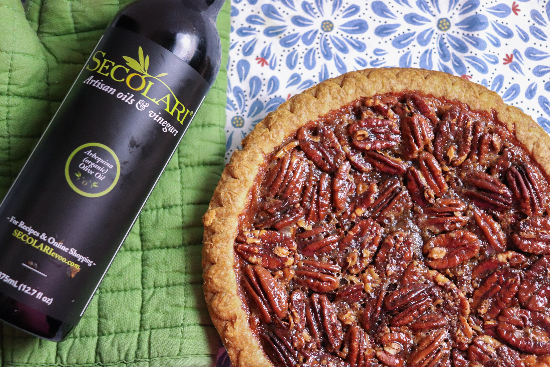 Pecan Pie With Secolari Olive Oil Crust