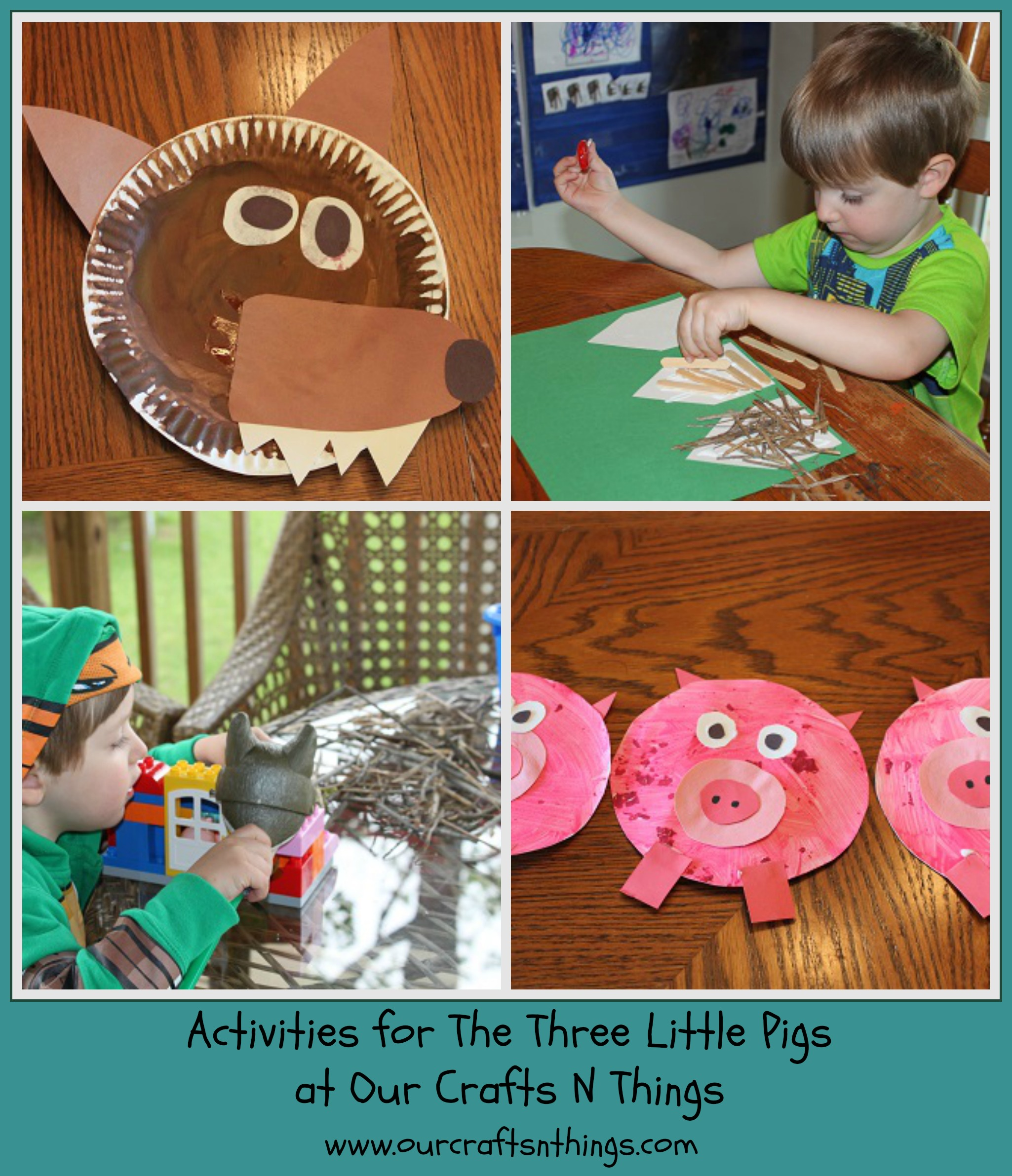Our Crafts N Things Blog Archive The Three Little Pigs