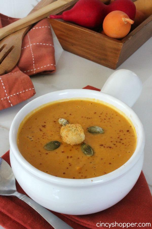 Copycat Panera AUtumn Squash Soup Recipe - Cincy Shopper - HMLP 156 Feature