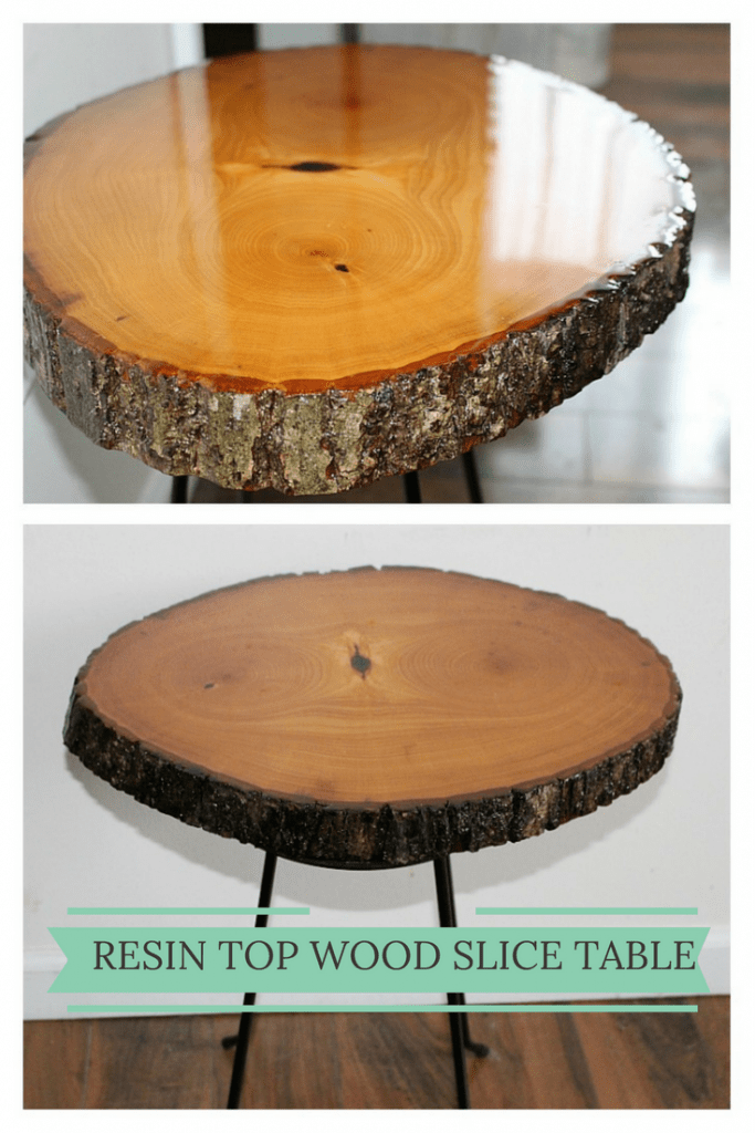 gorgeous diy resin wood table