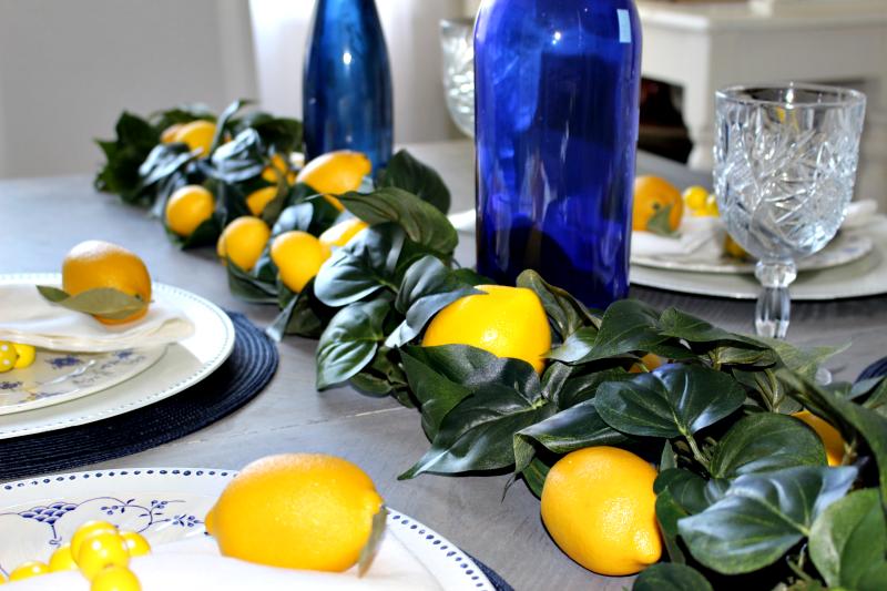 How To Make A Farmhouse Style Lemon Garland Centsible Chateau #lemongarland #farmhouselemongarland #diydecor #farmhousedecor