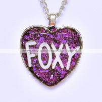 Glitz Blizzard foxy necklace