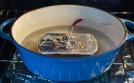 Alternate method: cooking pâte en bain-marie