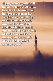 1 Corinthians 3:15-17 KJV