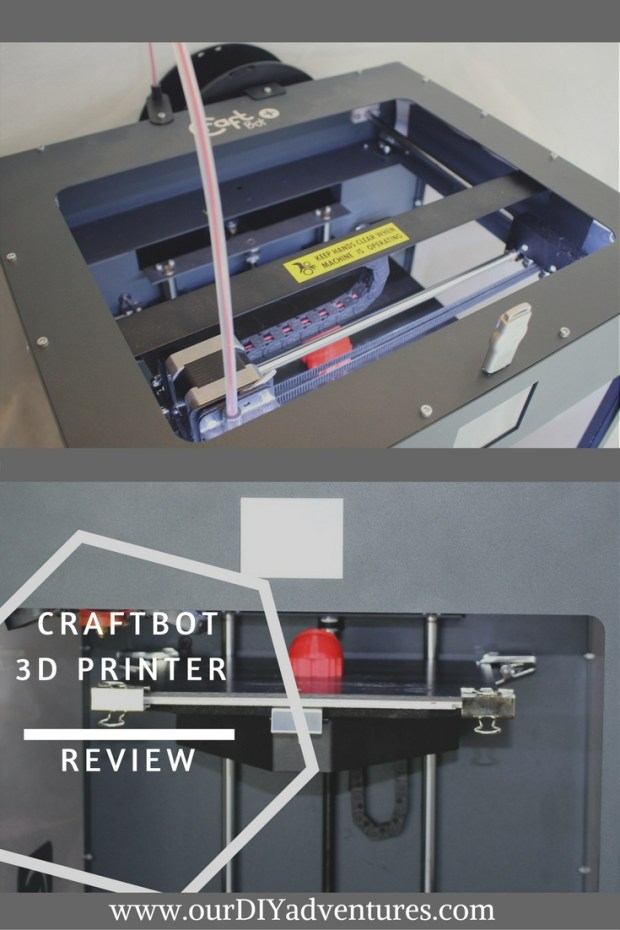 CraftBot a 3dPrinter Review