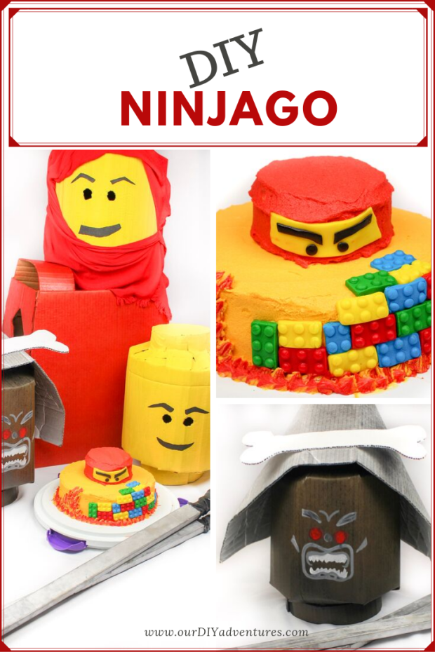 DIY Ninjago birthday party