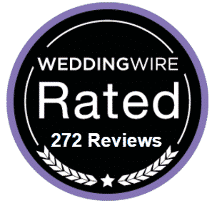 wedding wire award for having over 100 reviews dj awards & recognition