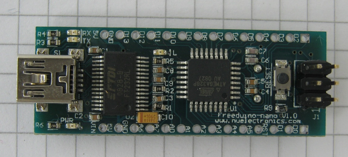 Freeduino Nano - Top