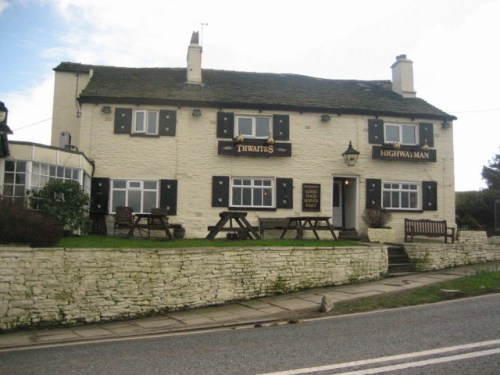 The Highwayman Inn - geograph.org.uk - 353180