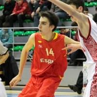 Alex Mazaira y Paula Valiño en la selección española U18 y U16 de baloncesto