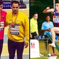 Luis Moro vuelve al podio nacional y Palomanes bate el récord gallego de triple salto