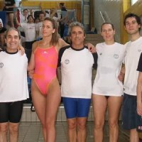Pabellón Ourense suma veinte medallas en el autonómico master de natación
